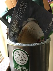 2017 (stevenbrandist) Tags: calendar green garbage rubbish bin recycle recycling