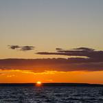 Sunset on Waskesiu Lake, Prince Albert National Park thumbnail