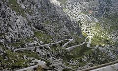 Serpentine road (Schwanzus_Longus) Tags: mallorca majorca island balearics balearic palma capital old town city derra de tramuntana mountain road outdoor