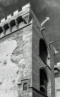 Torres de Quart (BW) Valencia (Fujifilm X100F 23mm f2 Compact) (1 of 1)