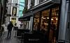 Smoking and waiting (PChamaeleoMH) Tags: bleachbypass cafe carnabystreet centrallondon colorefexpro4 london nik people smoke smoking whiteneutralizer