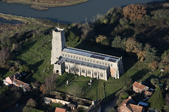 Blythburgh Holy Trinity Church in Suffolk - UK aerial image (John D Fielding) Tags: blythburgh suffolk village aerial above nikon d810 church viewfromplane aerialimagesuk aerialphotography aerialimage aerialview hidef hirez hires highresolution highdefinition britainfromtheair britainfromabove