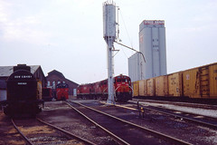 GB&W RS27 in the Green Bay yard on 8-20-79 (LE_Irvin) Tags: gbw greenbaywi rs27
