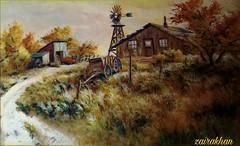 Painting. Flanagans Knoll Lee K.Parkinson.. (zairakhan) Tags: painting oilcanvas art artgallery utah indoor creativity