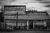 Best Antique Shopping in Lostine, OR. (D E Pabst Photography) Tags: oregon lostine wallowacounty wooden blackandwhite monochrome store building
