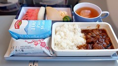 Economy Class In-flight Meal - China Airlines