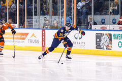 "Kansas City Mavericks vs. Colorado Eagles, December 16, 2017, Silverstein Eye Centers Arena, Independence, Missouri.  Photo: © John Howe / Howe Creative Photography, all rights reserved 2017. • <a style=""font-size:0.8em;"" href=""http://www.flickr.com/photos/134016632@N02/39106607872/"" target=""_blank"">View on Flickr</a>"