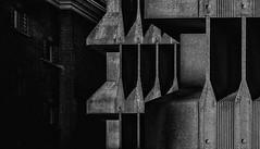 (Kijkdan) Tags: architecture abstract blackandwhite monochrome rotterdam
