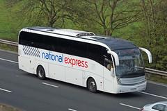 Edwards Coaches, Bristol - FJ12 FYD (peco59) Tags: fj12fyd volvo b9r b9 caetano levante edwardscoaches edwardsbristol edwardsllantwitfardre nationalexpress psv pcv coach