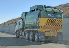 WM Garbage Truck 12-21-17 (Photo Nut 2011) Tags: sanitation truck waste garbage trash refuse california junk wm wastemanagement 103740 garbagetruck trashtruck wastedisposal