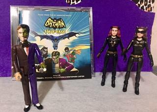 Batman vs Two-Face soundtrack CD