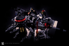 Vader's Birth (David Otten Fotografie) Tags: 50mm 50mm18d d610 holland lego nederland netherlands nikkor nikon nikond610 nikontop speedlight davidottenfotografie dof fun sb700 starwars toys darthvader vader darth palpatine emperor sith