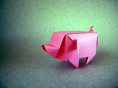 Pig – Xiaodai (Rui.Roda) Tags: origami papiroflexia papierfalten cochon cerdo porco pig xiaodai