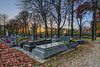 Cimetière des Batignolles - HDR (gilles_t75) Tags: d7200 france gillest hdr nikkor1024mmf3545 nikon bracketing exposurefusion highdynamicrange photohdr photomatix tonemapping cimetière batignolles paris 75017 tombe caveau sépulture chapelle pierretombale concession funéraire défunt monument funèbre croix coucherdesoleil sunset