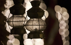 (mokastet) Tags: mokastet christmas christmaslights xmas bokeh depthoffield denmark blackandwhite blackwhite noiretblanc
