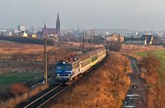 EP07-201 (Kuba Batorowicz) Tags: ep07 pkpintercity kutno rail train
