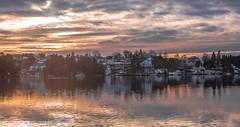 Nordåsvannet (2000stargazer) Tags: nordåsvannet bergen norway lake reflection landscape waterscape nature heaven december afternoon horizon canon light