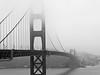 Golden Gate Bridge (B&W) (jonhuskisson) Tags: california sanfrancisco usa travel goldengatebridge goldengate bridge architecture blackandwhite blackwhite bw monochrome