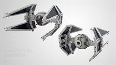 TIE Interceptor (Jerac) Tags: tie interceptor lego star wars commission