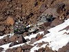 Aircraft debris in the northwest couloir of Toubkal (markhorrell) Tags: morocco highatlas atlasmountains jebeltoubkal