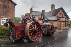 Leigh Arms Steam Party 2017 (Ben Matthews1992) Tags: leigh arms steam party 2017 cheshire little british britain england old vintage historic preserved preservation vehicle transport traction engine burrell roller samson rl9960 4069 10ton