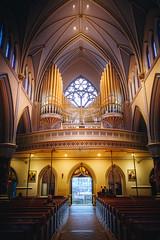 Holy Rosary Cathedral (Viv Lynch) Tags: canada travel vancouver britishcolumbia bc westcoast vancity cathedral church catholic holyrosary religion worship sanctuary architecture interior