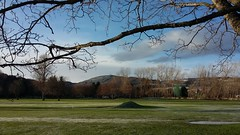 Torvean Golf Course, Inverness, Dec 2017 (allanmaciver) Tags: torvean golf course inverness caledonian canal trees silhouette froat frozen surface swing play leisure highlands ice cold freezing allanmaciver