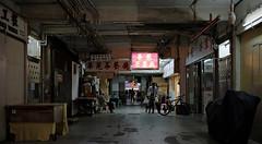 one saturday afternoon... (hugo poon - one day in my life) Tags: xt20 23mmf2 hongkong causewaybay carolinehillroad leishuncourt mall yesteryear vanishing longday bicycle sign shop break saturday