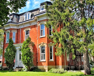 Belleville  Ontario - Canada  - Historic District Hill - Mansard Roof