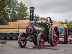 Bishops Castle Michaelmas Fair (Ben Matthews1992) Tags: 2017 bishops castle michaelmas fair carnival salop shropshire england british old vintage historic preserved preservation vehicle transport haulage steam traction engine locomotive 1910 foster agricultural general purpose ma5730 6nhp