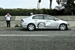 Highway 101 (rulenumberone2) Tags: hwy101 accident