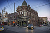 Lonesome Dove Western Bistro, 2017.12.29 (Aaron Glenn Campbell) Tags: lonesomedove lonesomedovewesternbistro oldcity knoxville city building architecture history buffalobill sunset lowlight textures nikcollection colorefexpro viveza on1effects sony a6000 ilce6000 mirrorless fotodiox lensadapter efmounttoemount canon ef1635mmf28liiusm wideangle telephoto walking