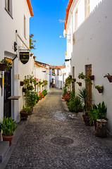 Moura street 2013 (_Rjc9666_) Tags: alentejo arquitectura colors flor flowers flowersplants moura nature nikond5100 portugal sky street tokina1224dx2 tourismo travel urbanphotography coblestone tourism ©ruijorge9666