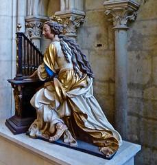 de la musique avant toute chose (3) (canecrabe) Tags: musique orgue saintecécile musicien musicienne cathédrale lemans saintjulien charleshoyau sculpteur terrecuite