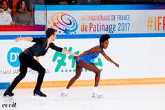 Vanessa James, Morgan Ciprès (asveri) Tags: figureskating isufigureskating skating shortprogram pairs pairskating internationauxdefrance ifp2017 gpfrance grandprix sports sportphotography