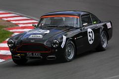 Christian van Lonschot - Aston Martin DB4 (Boris1964) Tags: 2005 heritagegrandtourers brandshatch