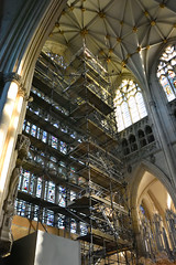 Photo of Great East Window Scaffolding