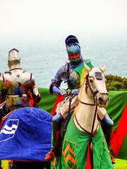 Jousting, Pendennis Castle, Falmouth, Cornwall (photphobia) Tags: falmouthharbour falmouth harbour cornwall town uk oldtown oldwivestale outdoor outside building buildings buildingarebeautiful architecture castle castillo pendenniscastle fortress fort henryviii charlesii jousting knights
