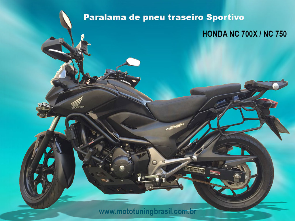 paralamadepneutraseironc700x moto tuning brasil tags paralamanc750x paralamanc700x paralamatraseiro hondanc700x hondanc750x - Moto Tuning