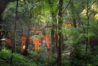 Fushimi Inari-taisha..Unesco site. Kyoto