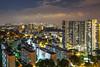 (MH Saiful) Tags: clementi nightscape long exposure architecture sony a7ii hdb landscape density skyscrapers cityscape development facade bto