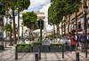 Dining on the Champs-Élysées (PLN54) Tags: champsélysées paris dining arcdetriomphe buildings signs