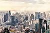 Bangkok Smog (Anthony Gehin) Tags: skyscraper skyline bagnkok thailand smog mist tower