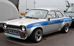 PWT 223K (Nivek.Old.Gold) Tags: 1972 ford escort 1300 sport 2door 3500cc mk1 gooch