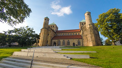 michaeliskirche (sixthofdecember) Tags: hildesheim germany travel gopro goprohero4 goprohero hero4 outside outdoors building buildings plant plants city urban tree trees sky sunshine sunny michaeliskirche stmichael church churchofstmichael stmichaelschurch