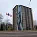Wasp Elder Mural - Résidence Lafrance - Université de Moncton