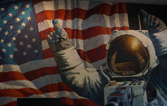 """Astronaut Mural • <a style=""""font-size:0.8em;"""" href=""""http://www.flickr.com/photos/28558260@N04/25205245928/"""" target=""""_blank"""">View on Flickr</a>"""