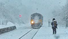 The Trains kept running (PeakDigital) Tags: hopevalley bamford sheffield manchester peakdistrict northernrail winter