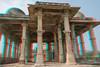 Mosquée, Champaner, Gujarat, Inde (Pascale Jaquet & Olivier Noaillon) Tags: mosquée coupoles anaglyph architectureislamique religionislam colonnes anaglyphe champaner gujarat inde ind
