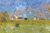 Farm with Cows (LarryHB) Tags: driving hdr horizontal photography farm rural missouri scottcounty summer barn 2016 dusk landscape larrybraunphotography cows bins